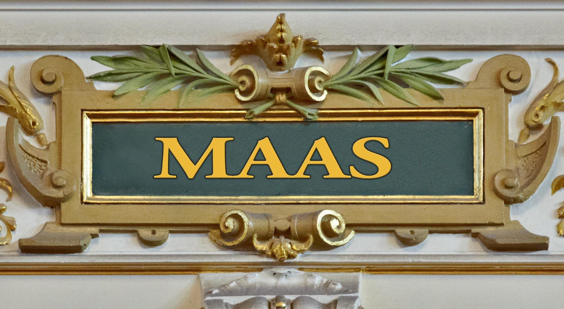 MAAS concertgebouw bandnaam